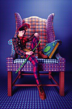 AMATO's collaboration with SPLASH!!! it was a pleasure working with the talented photographer Tejal Patni and the fabulous Raza Beig ...plaids!!! plaids!!! plaids!!! I LOVE PLAIDS !!!