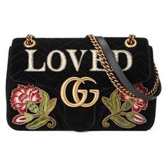 Gg Marmont Embroidered Velvet Shoulder Bag Gucci Source: http://www.closetonthego.com/e-shop-product/225490/gg-marmont-embroidered-velvet-shoulder-bag/ © Closet On The Go