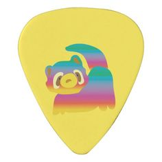 Summer Bear Guitar Pick