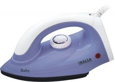 Inalsa Ruby 1000-Watt dry iron At Rs.299 From Amazon