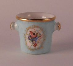 Champaigne Bucket 15-6 by Beate - $19.99 : Swan House Miniatures, Artisan Miniatures for Dollhouses and Roomboxes