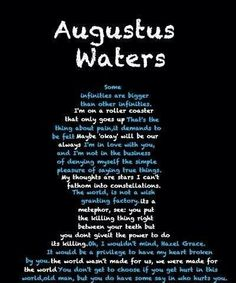 Augustus Waters quotes