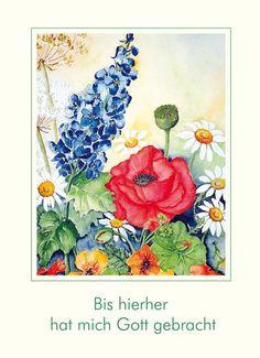 #Gott #Blumenstrauß #Mohnblume #LOGO