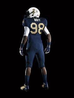 2011 #Navy #Football Nike Pro Combat Uniforms  http://sportsbettingarbitrage.in