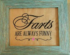 Funny Bathroom Sign Funny White Elephant by BeeSewHappyBoutique