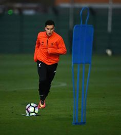 Philippe Coutinho of Liverpool during a training session at Melwood Training Ground on December 29 2016 in Liverpool England Liverpool England, Liverpool Fc, Football, December, Training, Philippe Coutinho, Hs Sports, Soccer, Futbol