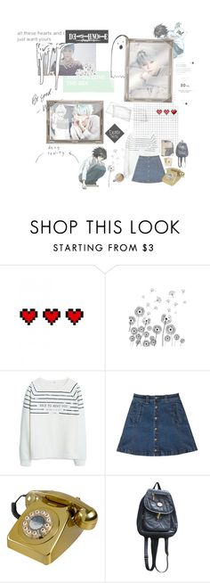 """""""xia and L"""" by anazish ❤ liked on Polyvore featuring Retrò, MANGO, Bebe and Plane"""