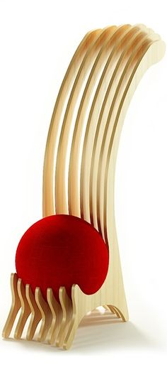 Wild ball chair. Active Sitting by Alexander Christoff