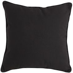 Cabana Pillow - Black