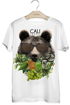 Camiseta Masculina Californian Bear