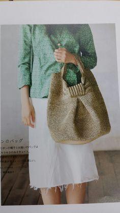 여름에들기좋은 가방 모자도안올려드려요 : 네이버 블로그 Crochet Patterns Amigurumi, Knit Crochet, Crochet Hats, Crochet Ideas, Shoe Pattern, Big Bags, Crochet Purses, Knitted Bags, Lana