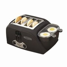 4-Slot Egg-and-Muffin Toaster...Kenny wants this so bad! I think it would be pretty great too.