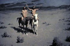Frederick Remington  One of my very favorite western artists!