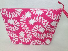Bridesmaid thank you gift  Cosmetic Bag Make Up by thesocialseam