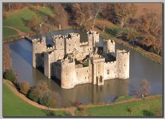 Bodiam Castle, East Essex, England