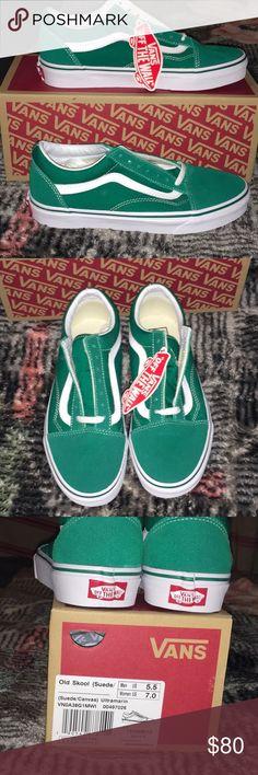 SUPER RARE ULTRAMARINE OLD SKOOL VANS *****BRAND NEW***** SUPER RARE ULTRAMARINE OLD SKOOL VANS Women's size 7 Men's size 5.5 Selling on sneaker resale sites for $100!!! Vans Shoes Sneakers