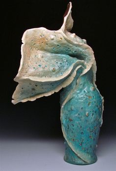 Welcome to Donna Greenberg Arts. I invite you to explore my recent collection of fine art jewelry and objets d'art. Polymer Clay Projects, Polymer Clay Crafts, Organic Shapes, Clay Beads, Sculpture Art, Ceramic Sculptures, Ceramic Vase, Pottery Art, Polymers