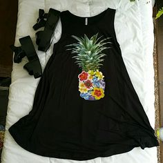 Summer  mini black dress A must!, available oly in black. Dresses Mini