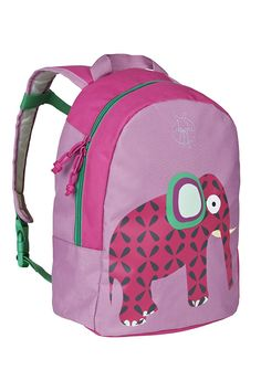 Lassig Kids Backpack for Kindergarten or Pre-School with chest strap, name badge and drink Bottle Holder, Wildlife Elephant *** Check this awesome product by going to the link at the image.
