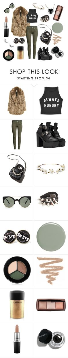 """""""Kaye"""" by jadebowman on Polyvore featuring MANGO, H&M, WithChic, Cult Gaia, Forever 21, RGB, Smashbox, MAC Cosmetics, Hourglass Cosmetics and Bobbi Brown Cosmetics"""