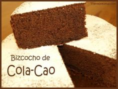 Bizcocho de Cola-Cao