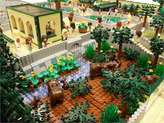 LEGO Friends: Animal Park | Flickr - Photo Sharing! Lego Zoo, Parks, City Layout, Lego Animals, Pokemon, Toy House, Lego Design, Lego Architecture, Minecraft