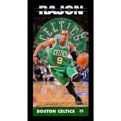 Rajon Rondo Boston Celtics Player Profile Wall Art 9.5x19 Framed Photo