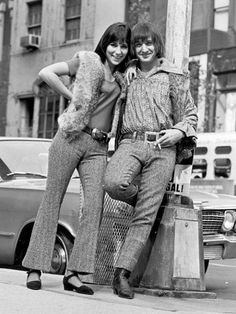 Sonny and Cher in New York City, 1965