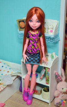 OOAK Monster High Repaint Doll Custom GiGi by MonsterHighDream