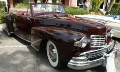 1947 Lincoln Continental Cabriolet     Cars on 5th Avenue in Naples, FL