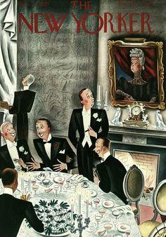 Константи́н Аладжáлов (Constantin Alajalov, 1900-1987) — художник-график, иллюстратор, акварелист, русский эмигрант первой волны. Его работы - в коллекциях Музея современного искусства в Нью-Йорке