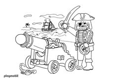 Coloriages Coloring Sheet Playmobil Tableau Des Gar 231 Ons