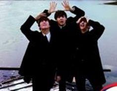 Three of the Beatles, John,Paul,Ringo