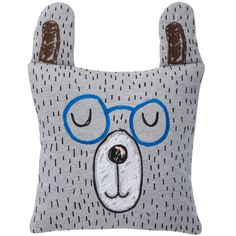 Little Mr. Teddy cushion by Ferm Living.