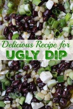 Easy Recipe for Ugly Dip
