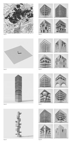 If you need ideas for a luxury and unique Architecture project, inspired by our selection and see more on this board. Unique Architecture ideas for your Luxury Home. See more inspirations. Paper Architecture, Concept Architecture, Architecture Drawings, Unique Architecture, Turm Von Babylon, Planer Layout, Tower Of Babel, Arch Model, Visualisation