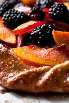 Nectarines and peaches work equally well here, as long as they're ripe and sweet. You can find almond powder, also called almond flour, in markets that sell baking supplies. The thin layer under the fruit will absorb juice so that the crust doesn't get soggy. (Photo: Andrew Scrivani for The New York Times)
