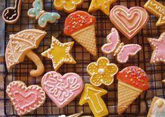 Receta de galletas decoradas con glace real