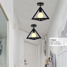 E27 metal industrial style black iron hanging ceiling lamps living room lights led ceiling light modern brief. Yesterday's price: US $90.00 (74.42 EUR). Today's price: US $27.00 (22.22 EUR). Discount: 70%.