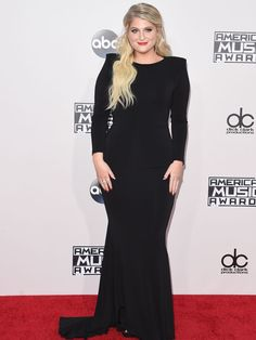Artist of the year nominee Meghan Trainor attends the 2015 American Music Awards.  Jason Merritt, Getty Images