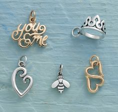 Spring Collection - Charms for Family, Friendship, and More #JamesAvery