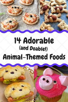 Super cute food in MINUTES! These adorable snacks are perfect for any party or…