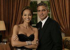 Isabel y George Clooney, juntos para lanzar Porcelanosa en Los Angeles