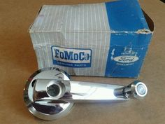 1960 66 FORD FALCON COMET NOS STATION WAGON TAILGATE LOCK & WINDOW CRANK HANDLE #FORD