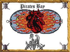 Aithon Cuff/Bracelet  Miyuki Delica PDF by PiratesOfTheBeads, $6.00