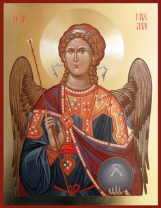 Archanioł Michał #icône Archangel Gabriel, Archangel Michael, Early Christian, Guardian Angels, Orthodox Icons, Byzantine, Madonna, Catholic, Religion