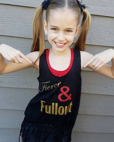 694268c7bbdf Girls dance tank, Fierce & Fullout Tank, dancewear, girls black dance  tanks, free shipping, girls dancewear, dance gifts, christmas gifts