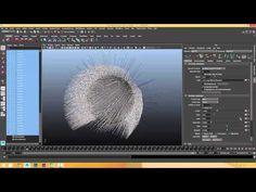 XGen (Autodesk Maya) - Part 05 - Guide Animation - YouTube