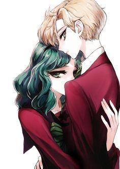 Haruka y Michiru