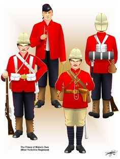 Tim Reeve's Arts of Wars Computer Graphics Books - British Uniforms of Queen Victoria's Little Wars, 1837-1902